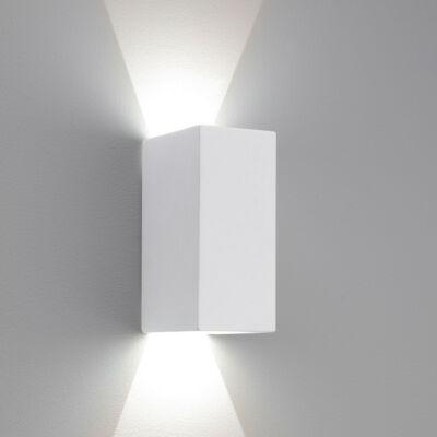 Astro Parma 1187001 gipsz fali lámpa fehér gipsz