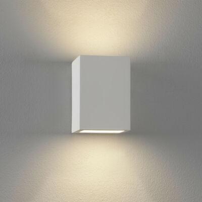 Astro Mosto 1173001 fali lámpa fehér gipsz