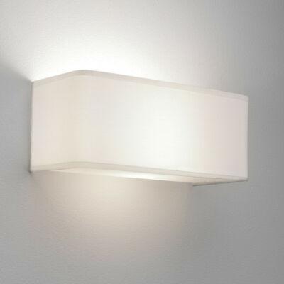 Astro Ashino 1166002 fali lámpa fehér textil szövet