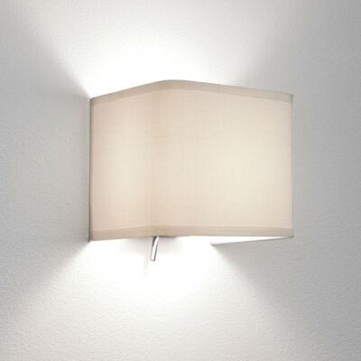 Astro Ashino 1166001 fali lámpa kapcsolóval fehér fém szövet