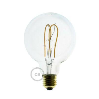Creative-Cables Fermaluce Metal with E27 threaded lamp holder, the metal wall or ceiling light source APM1BRPMBRTF mennyezeti rózsa gyöngyház fekete