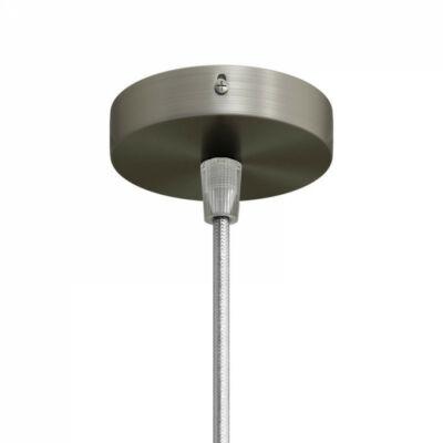 Creative-Cables Mini Cylindrical Metal 1 central hole ceiling rose kit KRM83FCTIS mennyezeti rózsa titán fém