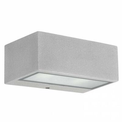 Leds-C4 NEMESIS 05-9800-34-CL kültéri fali led lámpa szürke üveg