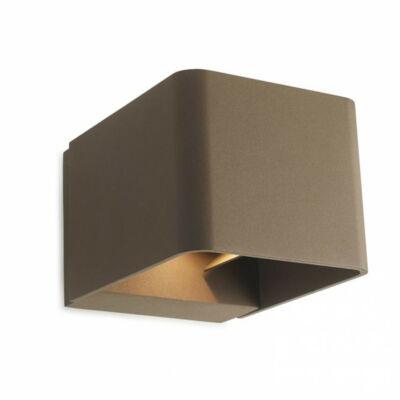 Leds-C4 WILSON 05-9683-J6-CL kültéri fali led lámpa barna alumínium