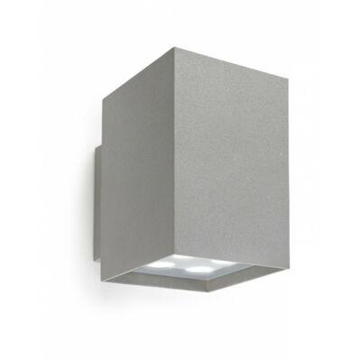 Leds-C4 AFRODITA POWER LED 05-9773-34-37 kültéri fali led lámpa szürke alumínium