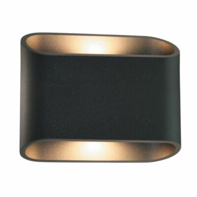 Leds-C4 DIAGO 05-9873-Z5-CL kültéri fali led lámpa sötétszürke üveg