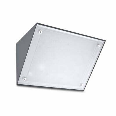 Leds-C4 CURIE GLASS 05-9884-Z5-CL kültéri fali led lámpa sötétszürke