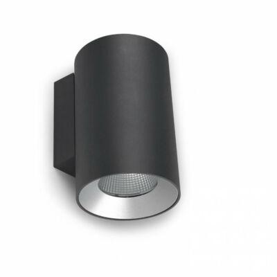 Leds-C4 COSMOS 05-9955-Z5-CL kültéri fali led lámpa fekete alumínium