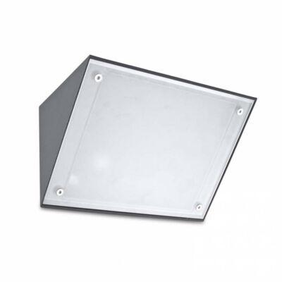 Leds-C4 CURIE 05-9993-Z5-G5 kültéri fali led lámpa szürke alumínium