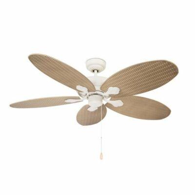 Leds-C4 PHUKET 30-4398-16-16 mennyezeti ventilátor antik fehér fém