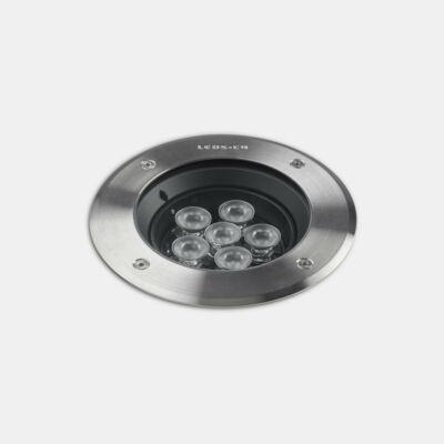 Leds-C4 GEA POWER LED PRO 55-9978-CA-CL talajba süllyeszthető lámpa nikkel acél
