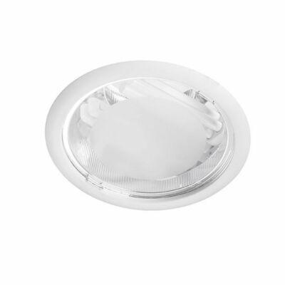 Leds-C4 DN-1401-14-00 Álmennyezetbe építhető lámpa ECO fehér üveg