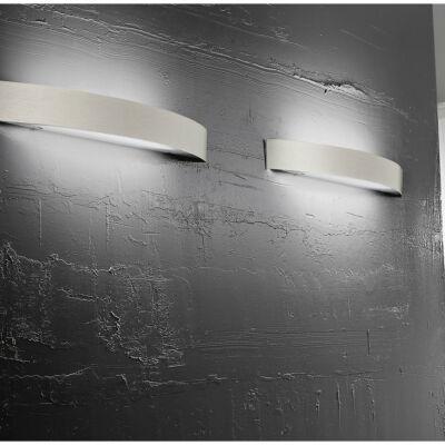 LineaLight CURVÉ 1031 fali lámpa szatinált nikkel fém