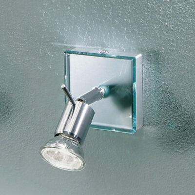 LineaLight SPOTTY 1150 fali spotlámpa króm üveg