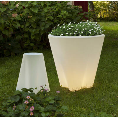 LineaLight FLOWER OUT 15057 kerti dekoráció fehér műanyag