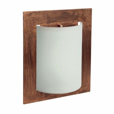 LineaLight MET WALLY 575RU881 fali lámpa  rozsda   fehér   fém   üveg