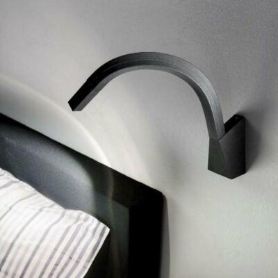 LineaLight SNAKE 7227 falikar fekete fém