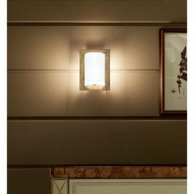 LineaLight MET WALLY 539BRA881 fali lámpa fehér fém