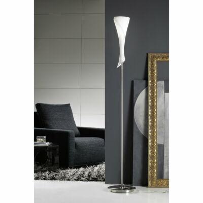 Mantra ZACK 0775 állólámpa szatinált nikkel opál fém üveg