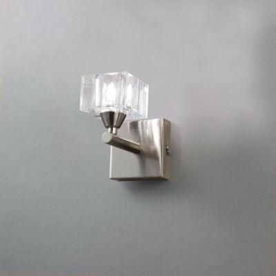 Mantra CUADRAX 1112 falikar szatinált nikkel fém üveg