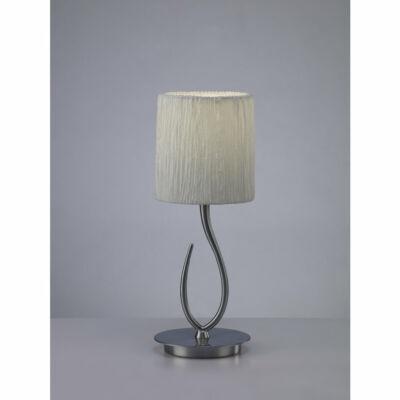 Mantra LUA 3702 asztali lámpa szatinált nikkel fém