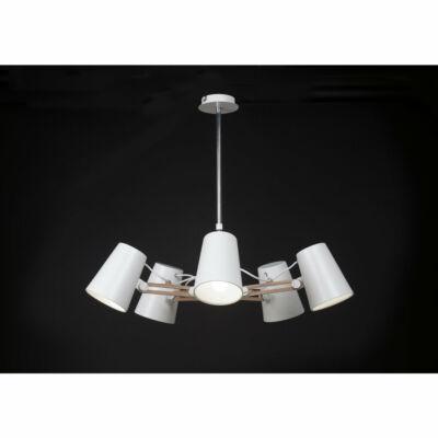 Mantra LOOKER 3770 modern csillár fehér fém