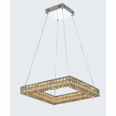 Mantra CRYSTAL LED 4587 egyágú függeszték króm fém