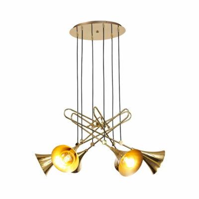 Mantra Jazz 5895 többágú függeszték arany arany fém
