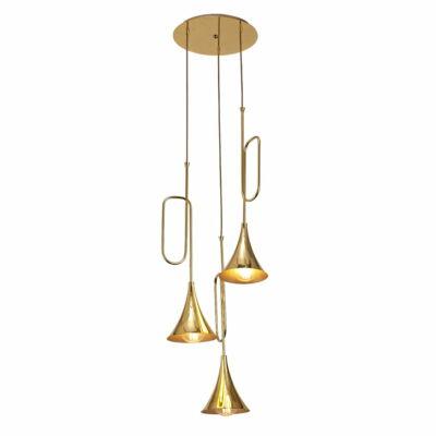 Mantra Jazz 5896 többágú függeszték arany arany fém