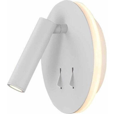 Mantra CAYMAN 6080 fali lámpa matt fehér fehér akril