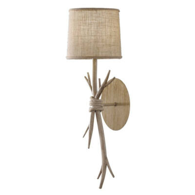 Mantra SABINA 6180 fali lámpa fa barna fém szövet