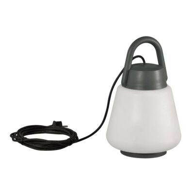Mantra KINKE 6213 asztali lámpa antracit fehér műanyag akril