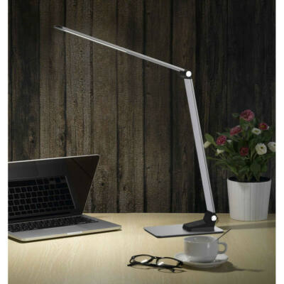 Mantra HIGH SCHOOL 6237 éjjeli asztali lámpa szürke műanyag akril