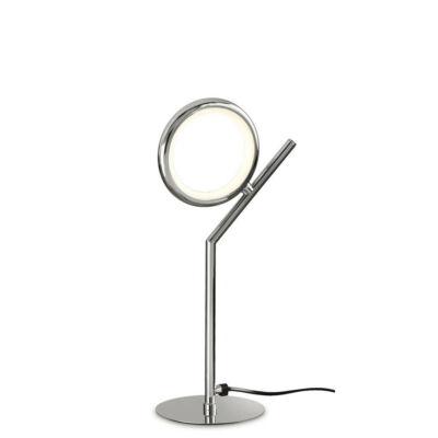 Mantra OLIMPIA CHROME 6596 ledes asztali lámpa króm fehér alumínium szilikon