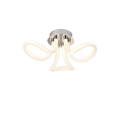 Mantra KNOT LINE 6616 mennyezeti lámpa króm fehér fém akril