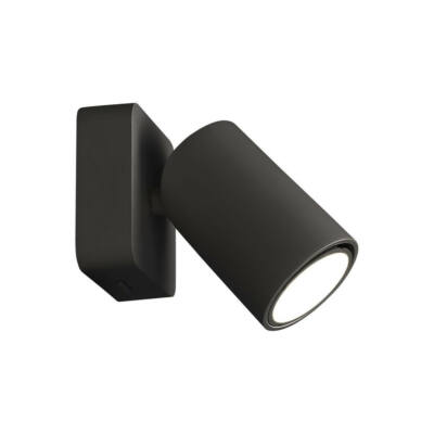 Mantra SAL BLACK 6714 fali lámpa matt fekete fekete akril