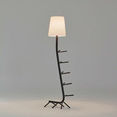 Mantra Centipede 7255 állólámpa  fekete   fehér   fém   textil