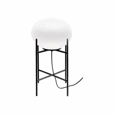 Nowodvorski TL-9748 Éjjeli asztali lámpa NUAGE fekete fehér acél üveg