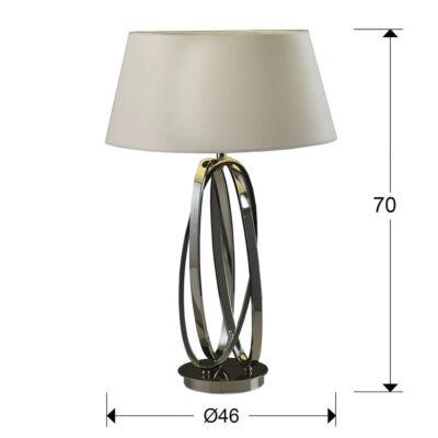 Schuller Ovalos 316451 éjjeli asztali lámpa