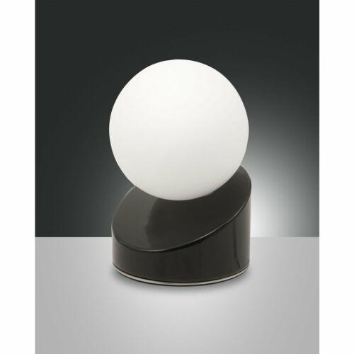 Fabas Luce GRAVITY 3360-30-101 Ledes asztali lámpa fekete fém üveg