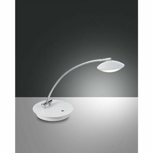 Fabas Luce HALE 3255-30-102 Ledes asztali lámpa fehér fém