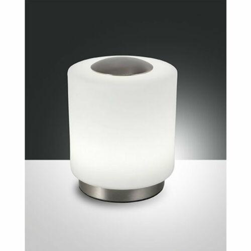 Fabas Luce SIMI 3257-30-178 Ledes asztali lámpa opál fém