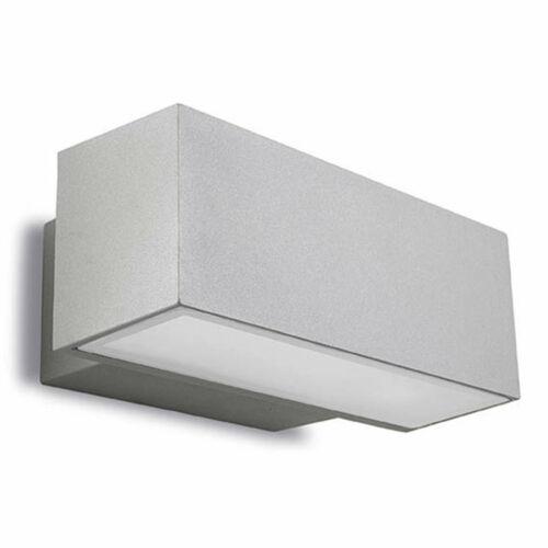 Leds-C4 AFRODITA 05-9228-34-37 Kültéri fali lámpa szürke alumínium