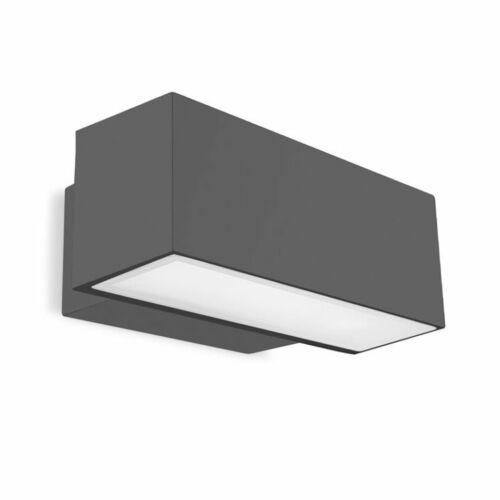 Leds-C4 AFRODITA 05-9228-Z5-37 Kültéri fali lámpa  sötétszürke   alumínium
