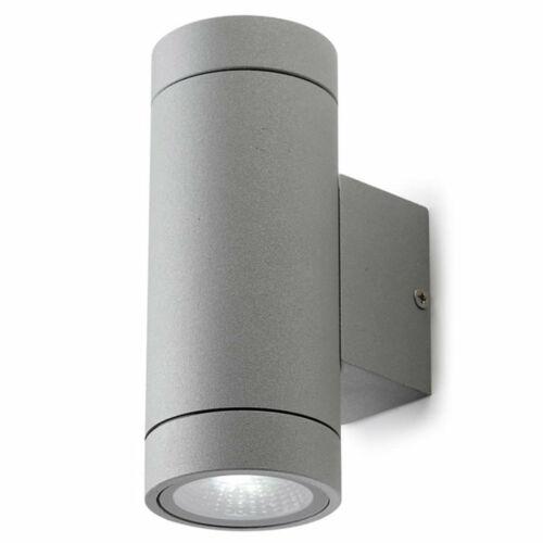 Leds-C4 TERRY 05-9719-34-37 Kültéri fali lámpa szürke alumínium üveg