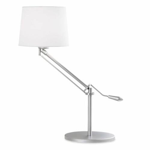 Leds-C4 MILAN 10-1568-81-82 Asztali lámpa szürke acél