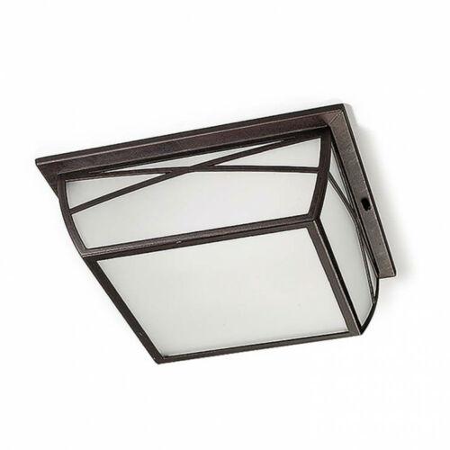 Leds-C4 ALBA 15-9350-18-AA Kültéri mennyezeti lámpa  rozsdabarna   üveg