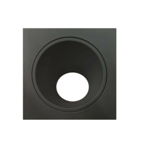 Mantra BRANDON 6903 Beépíthető lámpa fekete alumínium