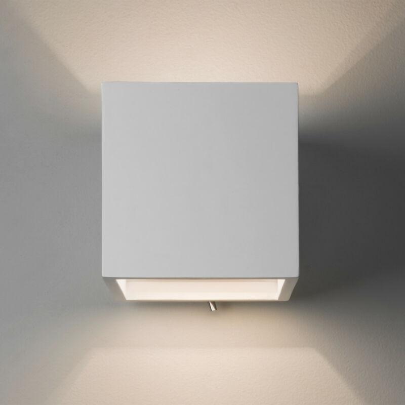 Astro Pienza 1196004 gipsz fali lámpa  fehér   gipsz