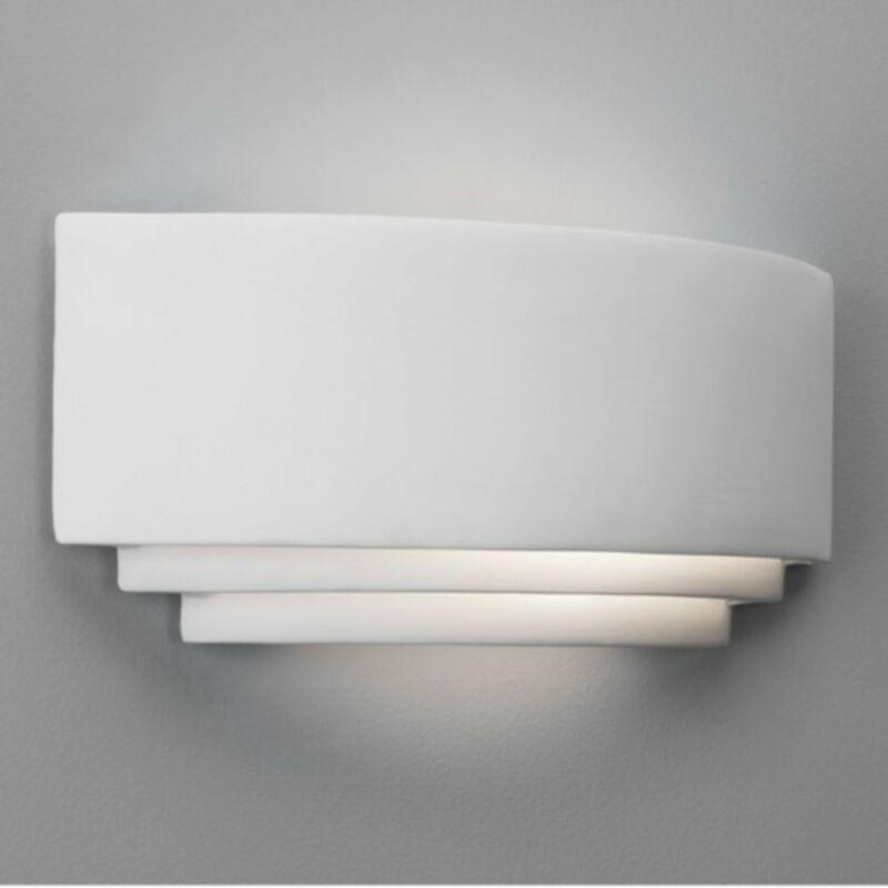 Astro Amalfi 1079001 gipsz fali lámpa fehér kerámia